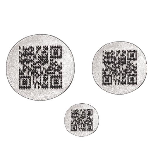 DME custom QR-Code Inserts