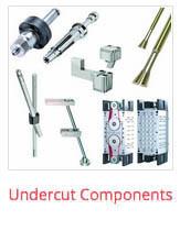 dme mold component undercuts
