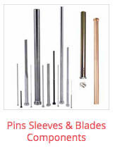 dme mold components pins and sleeves