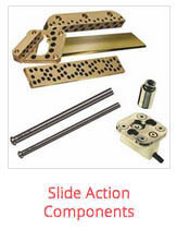 dme mold component - slide-action