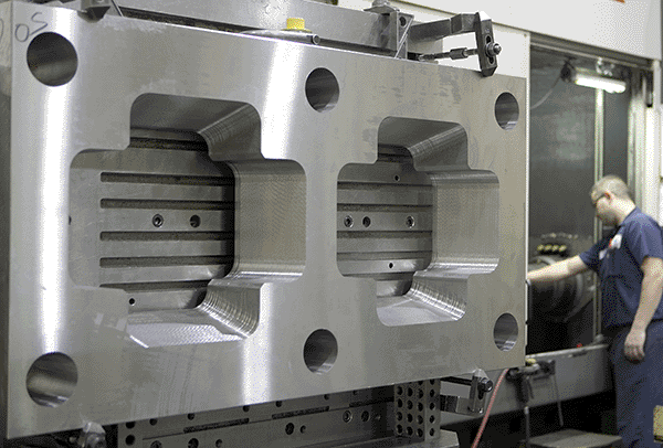 DME Machining Large Plate