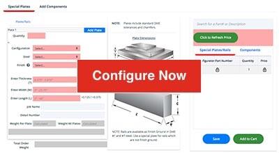 configure now button
