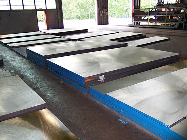 DME Warehouse Tool Steel Plate Inventory
